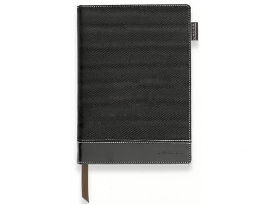 Записная книжка Cross Journal Textured A6 250стр линейка черный AC249-1S cross cross ac249 2s
