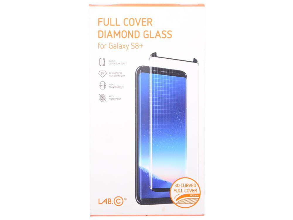 Защитное стекло LAB.C Full Cover Diamond Glass для Samsung Galaxy S8+ LABC-358-BK
