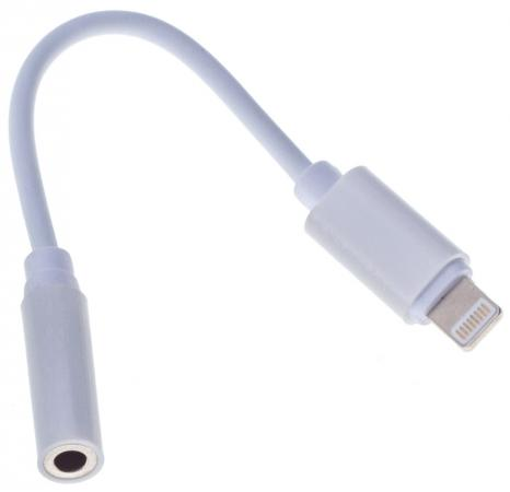 Переходник Buro Lightning (m)-miniJack (f) белый BHP RET ADA_LGHT-JCK переходник buro lightning m jack 3 5mm f usb a m черный