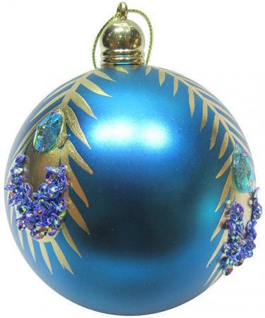 Набор шаров Новогодняя сказка 972917 8 см 3 шт голубой пластик interstep pb15000qc4u внешний аккумулятор 15000 мач