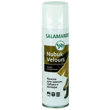 SALAMANDER Аэрозоль Nubuk Velours темно-коричневый 250мл ботинки salamander salamander sa815ammdl29