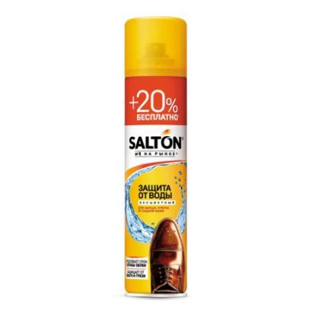 SALTON Аэрозоль Защита от воды для кожи замши и нубука Дизайн 2017 250мл 50мл аэрозоль для пропитки кожи замши и нубука centralin 200 мл