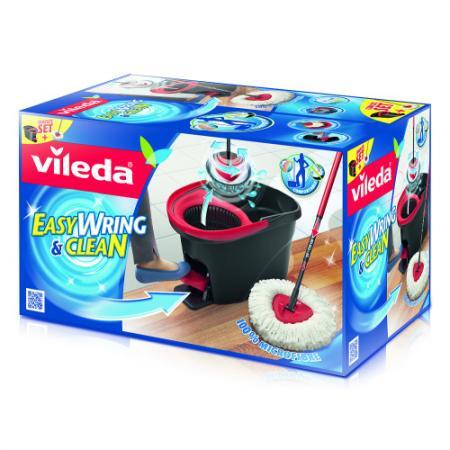 ВИЛЕДА Набор для уборки Легкий отжим Easy Wring швабра ведро с педальным отжимом