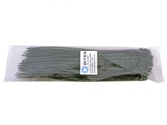 Пакет со стяжками 292мм*3.6мм 100шт черный lumax dv 1104hd