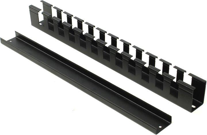 Кабельный органайзер 19, черный горизонтальный 1U, с крышкой, NT CO-H.СМ B кабельный органайзер 19 чёрный горизонтальный 1u nt co h b