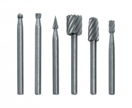 Шарошка FIT 36477 - мини по металлу набор 6шт. тиски станочные мини fit 100 мм