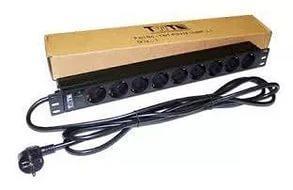 Блок розеток Lanmaster TWT-PDU19-16A9P-3.0 вертикальный 8  базовые 10A C14