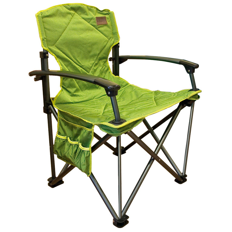 Элитное складное кресло Camping World Dreamer Chair green мягкое сиденье и спинка outdoor camping tripod folding stool chair fishing foldable portable fishing mate chair