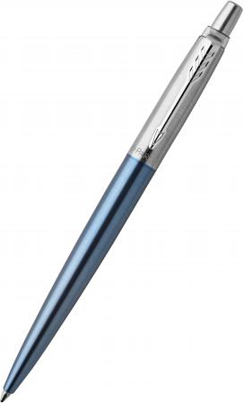 Гелевая ручка автоматическая Parker Jotter Core K65 Waterloo Blue CT черный M 2020650 гелевая ручка автоматическая parker jotter core k694 stainless steel gt черный 0 7 мм 2020647