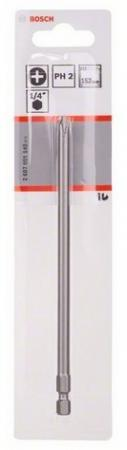 Бита Bosch 152мм PH2 XH 2607001540 free shipping 100 pcs 2way 2 54mm pitch pin header socket connector xh 2p