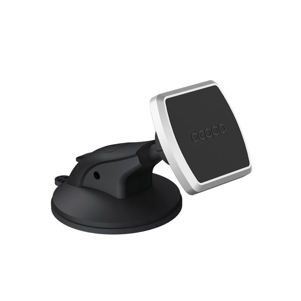 Подставка для телефона Deppa Mage One для смартфонов, магнитный, крепление на приборную панель и лоб держатель deppa mage one магнитный черный для смартфонов 55151
