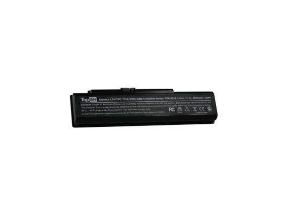 Аккумуляторная батарея TopON TOP-Y510 4400мАч для ноутбуков Lenovo 3000 Y500 Y510a IdeaPad V550 Y510 new lenovo ideapad p580 laptop lcd top lid back cover 90201007 am0qn000100