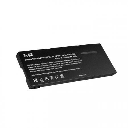 Аккумуляторная батарея TopON TOP-BPS24-NOCD 4400мАч для ноутбуков Sony Vaio VPC-S VPC-SA VPC-SB VPC- цена