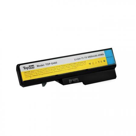 Аккумуляторная батарея TopON TOP-G460 4800мАч для ноутбуков Lenovo G460 G4704 G560 G565 G570 G575 G7 клавиатура topon top 90692 для lenovo ideapad 3000 g460 g465 series black