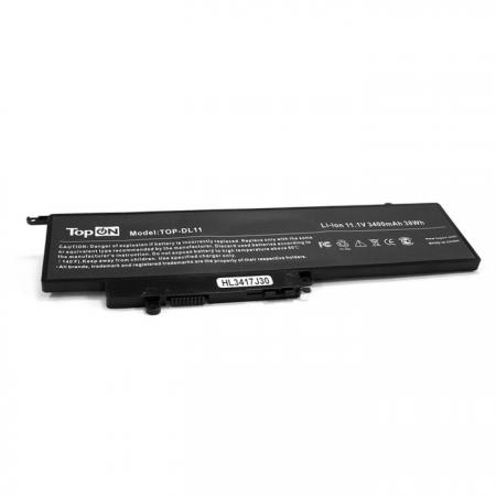 Аккумулятор для ноутбука Dell Inspiron 11-3000, 13-7000 Series. 11.1V 3400mAh 38Wh. GK5KY,4K8YH. 15 6 laptop lcd screen touch panel display 1366x768 b156xtt01 1 ltn156at36 d01 for dell inspiron 3000 series 15 3878 5551 3551