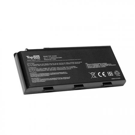 Фото - Аккумулятор для ноутбука MSI Erazer X6811, GX680, GX780, GT660, GT780 Series. 11.1V 6600mAh 73Wh. M аккумулятор