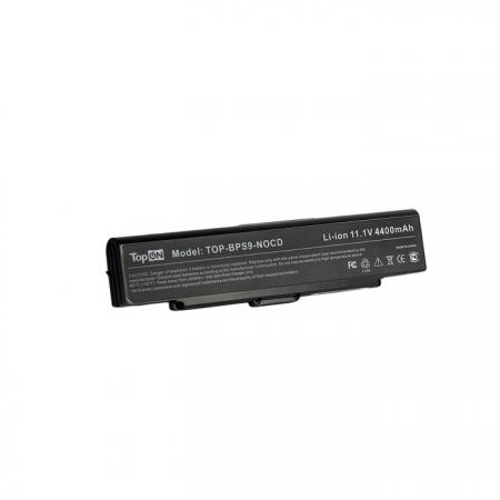 Аккумуляторная батарея TopON TOP-BPS9-NOCD 5200мАч для ноутбуков Sony Vaio VGN-CR VGN-AR VGN-NR VGN- 16 4 laptop lcd screen display matrix panel lp164wd1 tla1 tl a1 b164rw01 v 0 for sony vaio vgn fw 1600x900 30 pins matte
