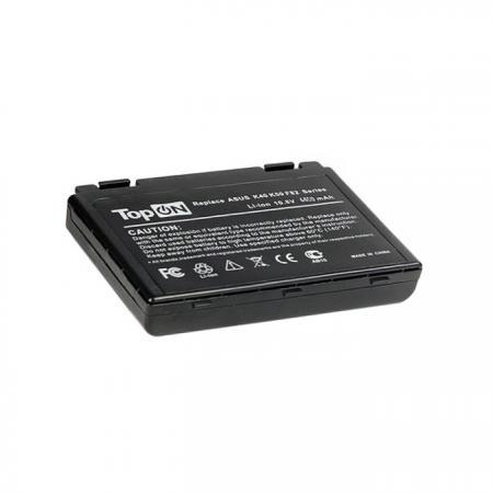 Аккумуляторная батарея TopON TOP-K50 4400мАч для ноутбуков Asus K40 K50 K51 K60 K61 K70 P50 P81 F52