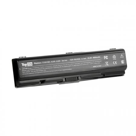 Аккумуляторная батарея TopON TOP-PA3534 4400мАч для ноутбуков Toshiba Satellite A200 A210 A300 A500 nokotion a000029810 for toshiba satellite u400 laptop motherboard gm45 ddr2 without graphics slot