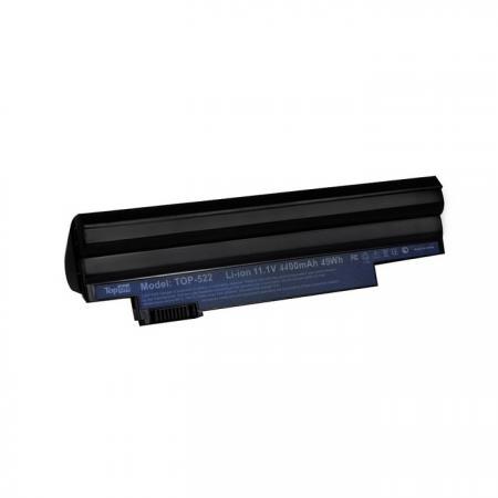 Аккумуляторная батарея TopON TOP-522 5200мАч для ноутбуков Acer Aspire One D255 D260 522 722 Happy H