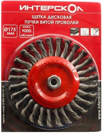 цена на Щетка дисковая Интерскол 2233917800600
