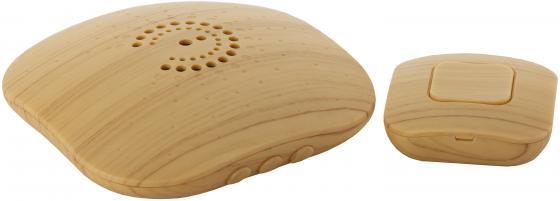 Звонок дверной беспроводной Эра Bionic Bright wood светлое дерево светодиодный беспроводной перезвон дверной звонок дверной звонок
