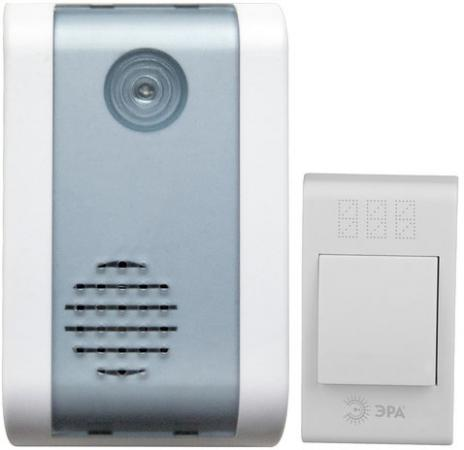 Звонок дверной беспроводной Эра C31 белый звонок электрический беспроводной светозар любимая мелодия 58075