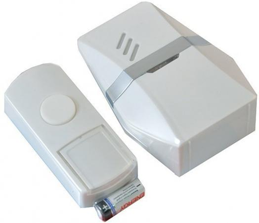 Звонок дверной беспроводной Эра C81 белый звонок электрический беспроводной светозар любимая мелодия 58075
