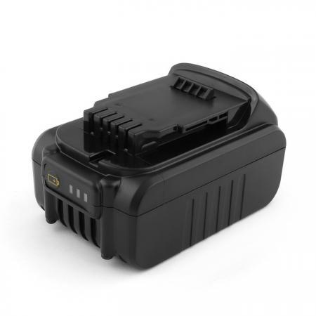 Аккумулятор для DeWalt 18V 4.0Ah (Li-Ion) DCD, DCF, DCG, DCL, DCN, DCS Series. DCB180, DCB181, DCB1 аккумулятор для dewalt 14 4v 2 1ah ni mh dc dcd dw series dc9091 de9038 de9091 de9092