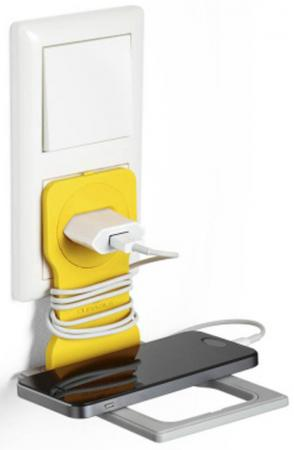 Держатель VARICOLOR для мобильного телефона, желтый