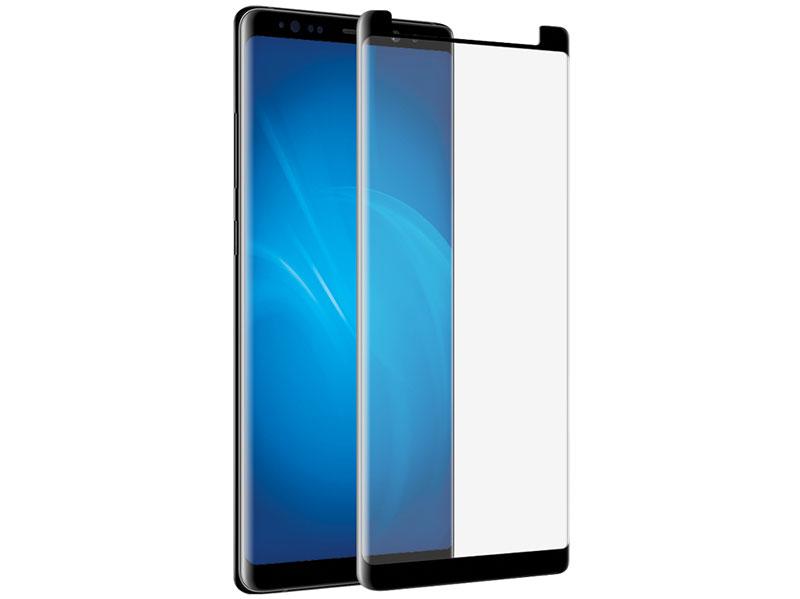 Закаленное стекло 3D с цветной рамкой (fullscreen) для Samsung Galaxy S9 DF sColor-34 (black) закаленное стекло с цветной рамкой fullscreen для samsung galaxy j3 2017 df scolor 20 white