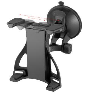 Универсальный Автомобильный Держатель GiNZZU® GH-684, для планшетов от 7
