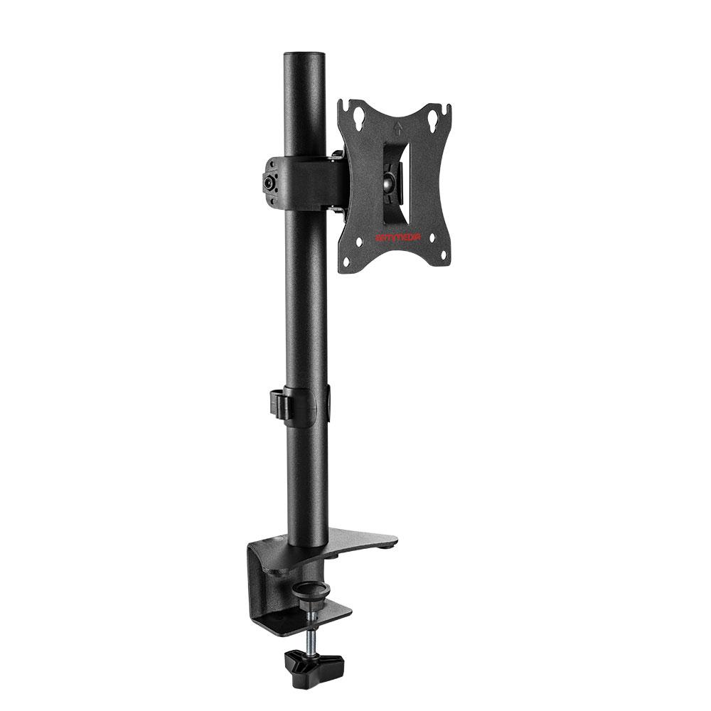 Кронштейн для мониторов Arm Media LCD-T01 black 15-32 настольный, наклонно-поворотный, VESA до 100x100, до 7 кг кронштейн для мониторов arm media lcd t02 black 15 32 настольный наклонно поворотный vesa до 100x100 до 7 кг