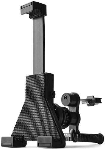 Универсальный держатель Qumo Airvent Car Tablet Holder для планшета с диагональю экрана от 7 до 10 дюймов с креплением на вертикальную или горизонталь car universal tablet moblephone suction cup holder black