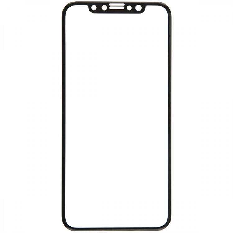 Защитное стекло BoraSCO 3D для Apple iPhone XR Черная рамка защитное стекло borasco glass для apple iphone 7