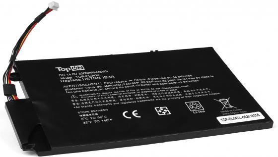 цена на Аккумулятор для ноутбука HP TouchSmart 4, Envy 1000, 4-1000 Series 3200мАч 14.8V TopON TOP-EL04XL 48