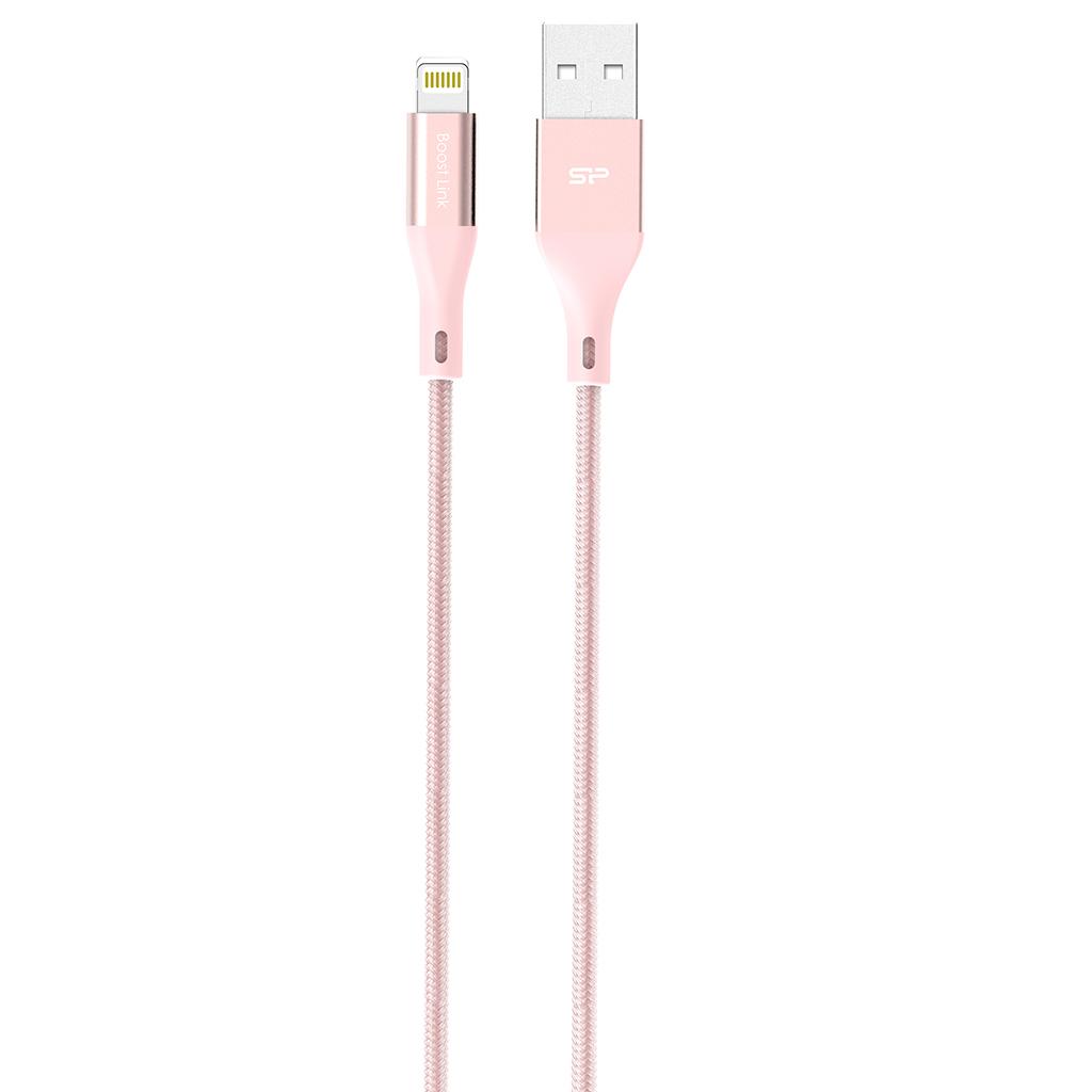 Кабель Silicon Power Lightning-USB для зарядки и синхронизации iPhone, iPad (сертифицирован Apple) 1 h 001 dual usb car cigarette lighter power charger for iphone ipad white silver 12 24v