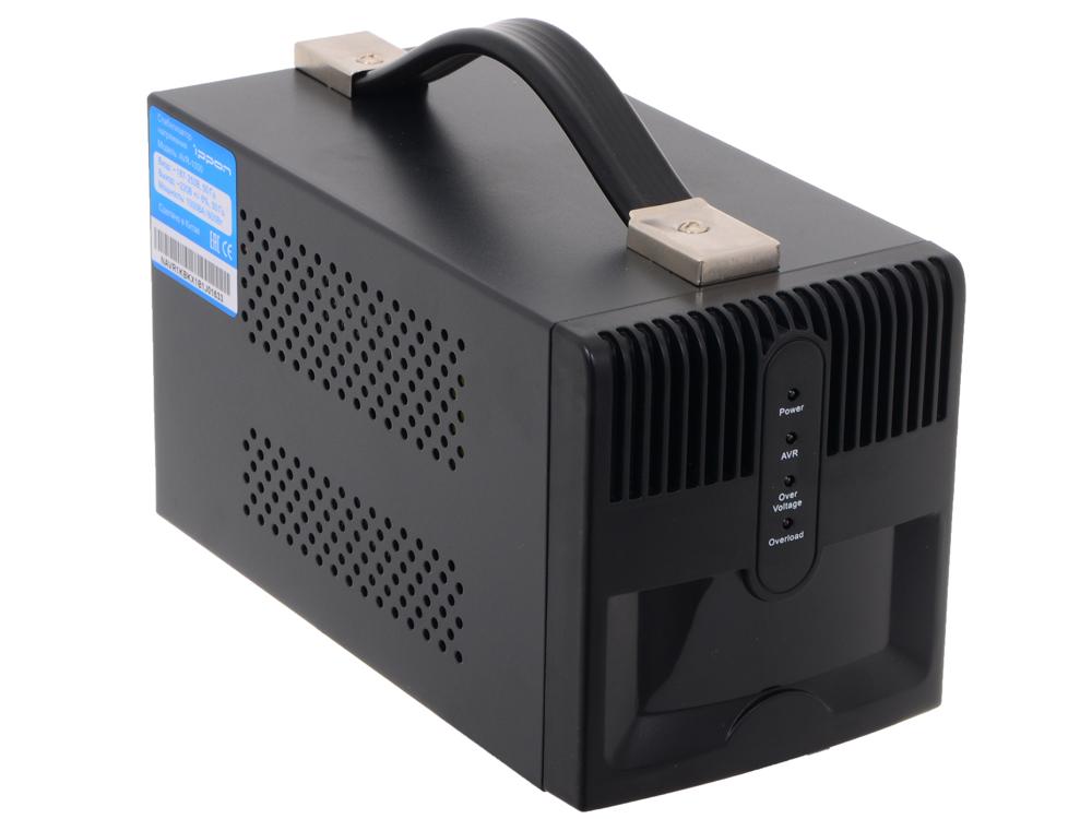 Стабилизатор напряжения Ippon AVR-1000 (4 EURO) стабилизатор ippon avr 1000