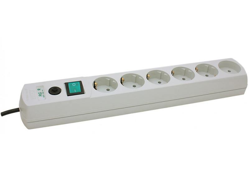 цена на Сетевой фильтр MOST Real RG 6 розеток 5 м белый