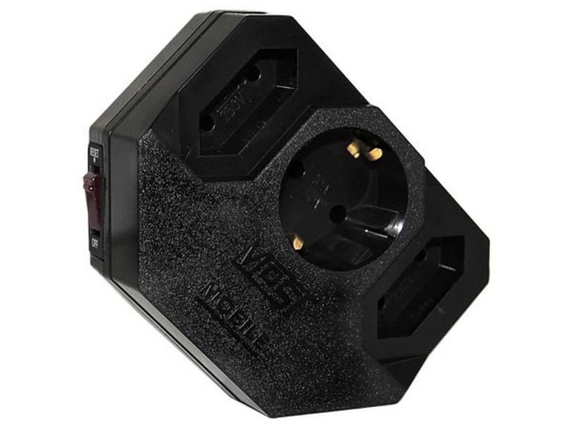 Картинка для Сетевой фильтр MOST Mobile MRG 3 розетки черный