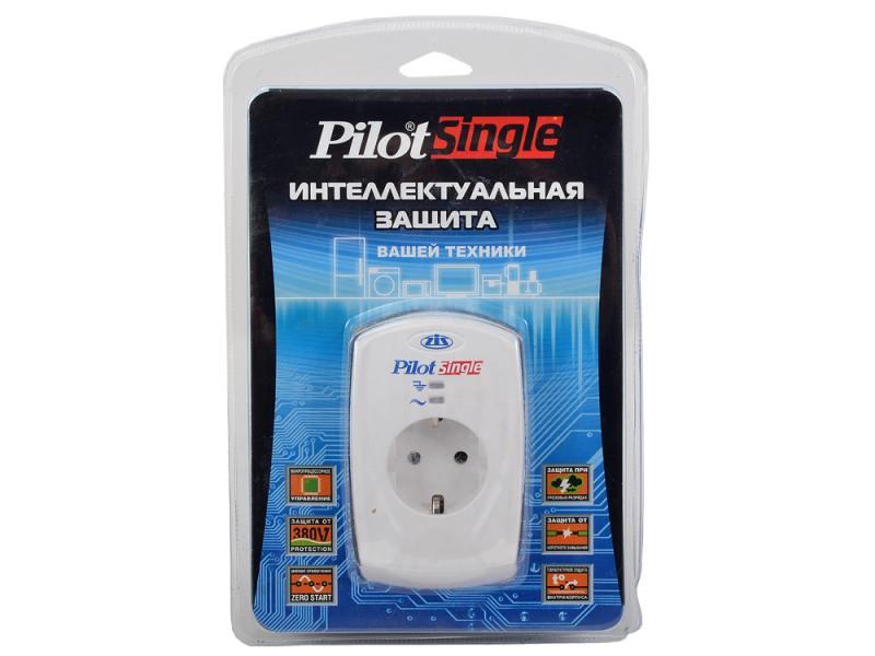 Сетевой фильтр ZIS Single 1 розетка белый vivanco 21950 адаптер розетка сетевой фильтр