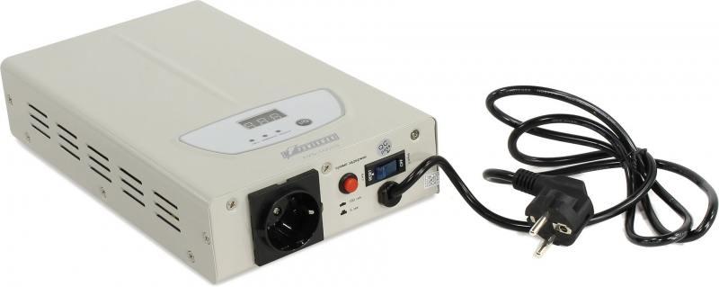 Стабилизатор напряжения Powerman AVS 1000S 1 розетка белый стабилизатор напряжения powerman avs 20000d белый