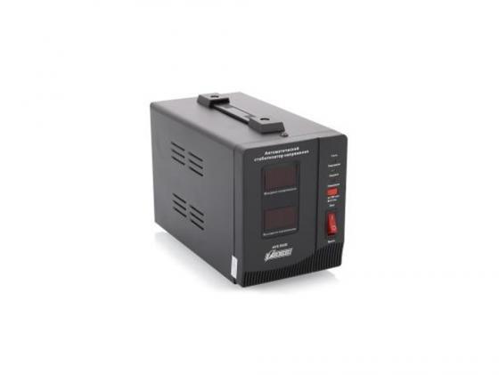 Стабилизатор напряжения Powerman AVS-1500D 1500VA черный цена