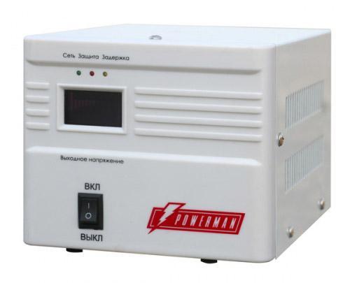 Стабилизатор напряжения Powerman AVS 500A 1 розетка h 500a