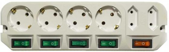 Сетевой фильтр MOST A16 6 розеток 3 м сетевой удлинитель most a16 3м черный [a16 3]