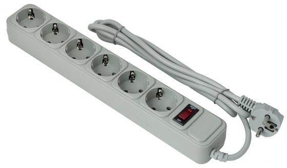 Сетевой фильтр Exegate SP-6-3G 6 розеток 3 м серый EX119392RUS