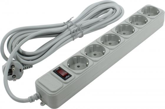 Сетевой фильтр Exegate SP-6-5G 6 розеток 5 м
