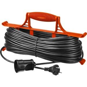 Удлинитель электрический STAYER MAXElectro 55018-20 на рамке, 20 м, 1 гнездо удлинитель stayer 20м на рамке 55018 20