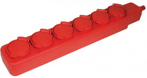 Iek WYP10-16-06-05-44-N Удлинитель  У06В 6 места с защитными крышками IP44 2 Р + P E /5метров 3х1мм2