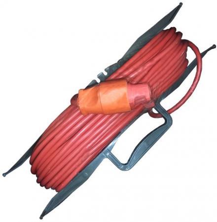 Удлинитель силовой на рамке GLANZEN ER-30-001 ПВС 2*0.75 30м удлинитель glanzen 30м на рамке er 30 001